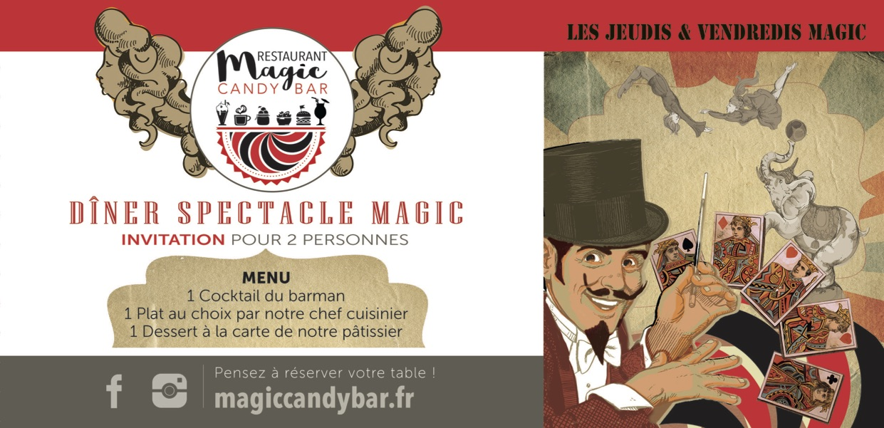 grenoble-restaurant-restaurant grenoble- burger grenoble-salade grenoble- magic candy bar- cheque cadeau-soiree magic-soiree spectacle